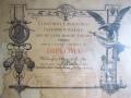 Diploma Ezio Cecchi 1907