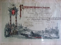 Diploma Ezio Cecchi 1908