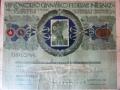 Diploma Ezio Cecchi 1911