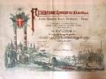 Diploma Ezio Cecchi 1897