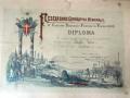 Diploma Ezio Cecchi 1898