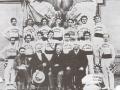 1901 squadra di ginnasti e dirigenti