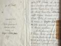 1911 lettera di incarico a Cecchi