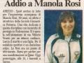 2009 la scomparsa di Manola